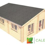 Angus 44mm + 44mm Log Cabin (www.caledonialogcabins.co.uk) - 003