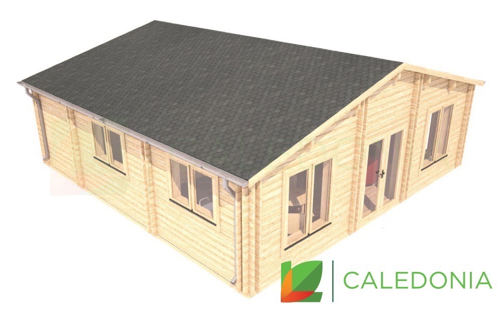 Angus 44mm + 44mm Log Cabin