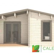 Ayrshire 70mm Log Cabin (www.caledonialogcabins.co.uk) - 002