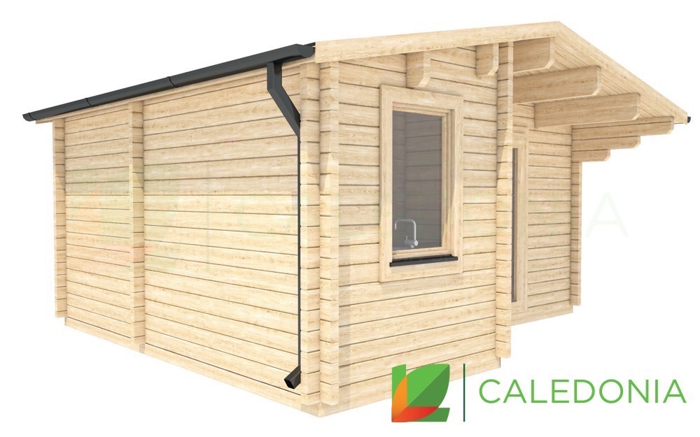 Biggar 68mm Log Cabin