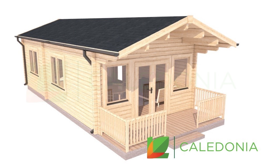 Bute 68mm Log Cabin