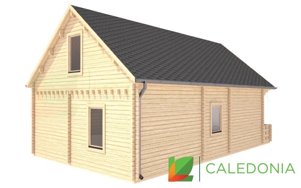 Crief 68mm Log Cabin