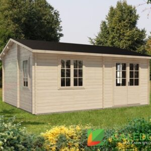 Cupar 44mm Log Cabin (www.caledonialogcabins.co.uk) - 001