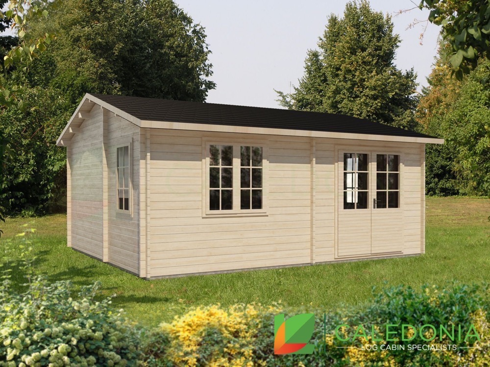 Cupar 44mm Log Cabin