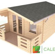 Dalkeith 70mm Log Cabin (www.caledonialogcabins.co.uk) - 003