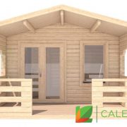 Dalkeith 70mm Log Cabin (www.caledonialogcabins.co.uk) - 002