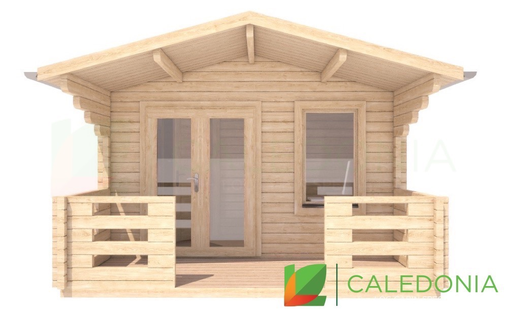 Dalkeith 68mm Log Cabin
