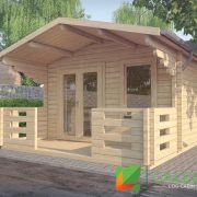 Dalkeith 70mm Log Cabin (www.caledonialogcabins.co.uk) - 001