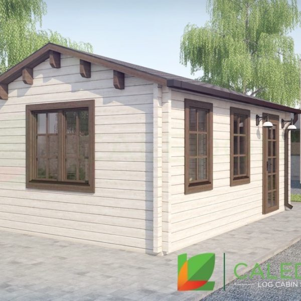 Deeside 68mm Log Cabin