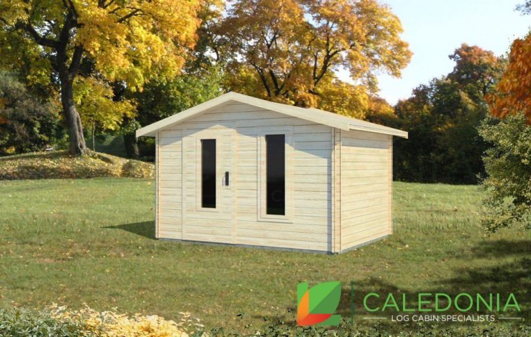 Dumfries 34mm Log Cabin