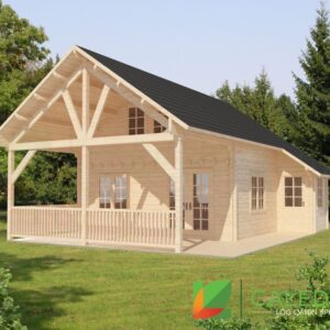 Galashiels 68mm Log Cabin (www.caledonialogcabins.co.uk) - 001