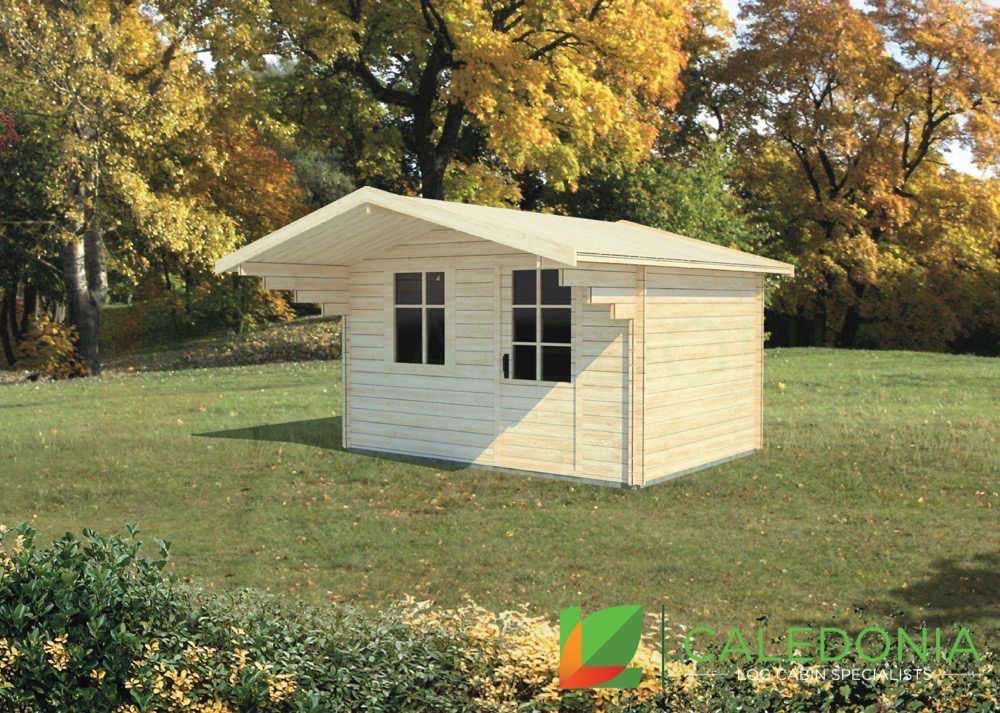 Gretna 34mm Log Cabin