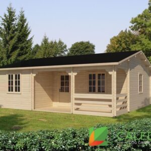 Jedburgh 44mm Log Cabin (www.caledonialogcabins.co.uk) - 001