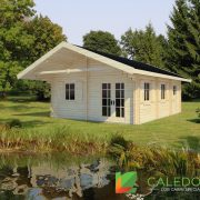 Melrose 44mm Log Cabin (www.caledonialogcabins.co.uk) - 001