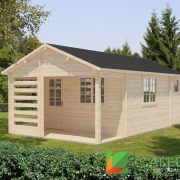 Midlothian 34mm Log Cabin (www.caledonialogcabins.co.uk) - 001