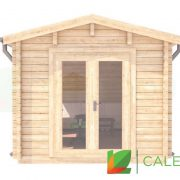 Queensferry 70mm Log Cabin (www.caledonialogcabins.co.uk) - 002
