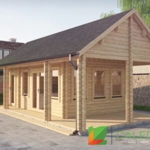 Scottish 44mm + 44mm Log Cabin (www.caledonialogcabins.co.uk) - 001