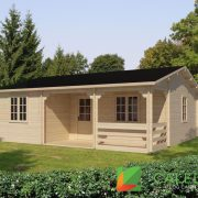 St Andrews 44mm Log Cabin (www.caledonialogcabins.co.uk) - 001