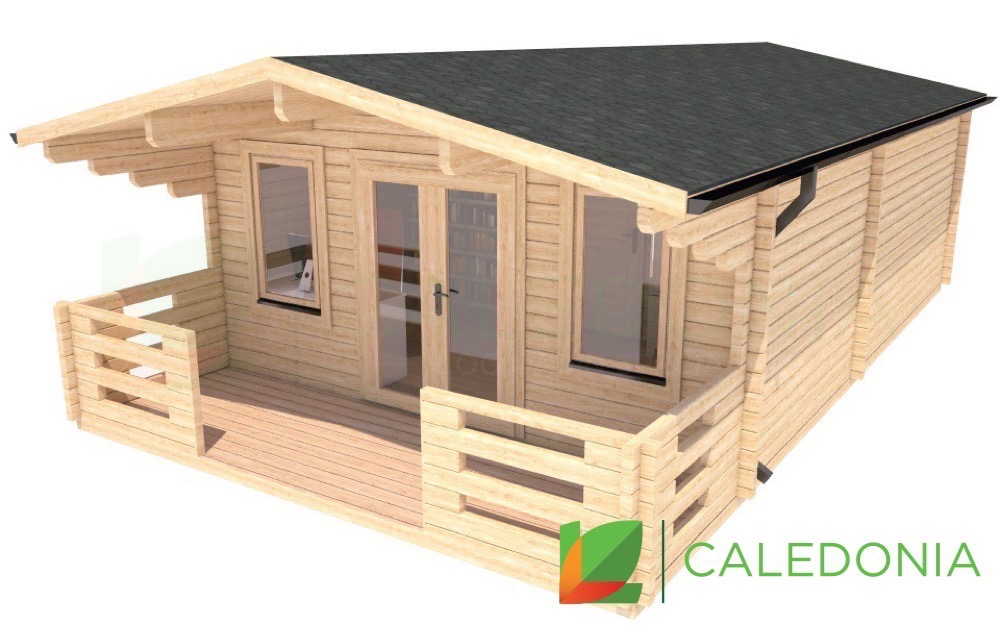Sutherland 44mm Log Cabin