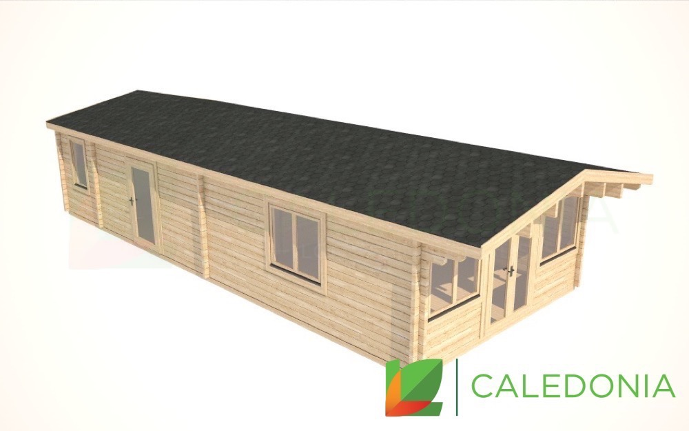 Tayside 68mm Log Cabin