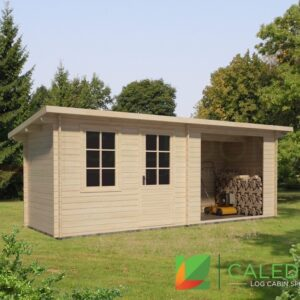 Turnberry 34mm Log Cabin (www.caledonialogcabins.co.uk) - 001
