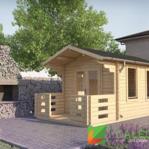 West Linton 44mm Log Cabin (www.caledonialogcabins.co.uk) - 001